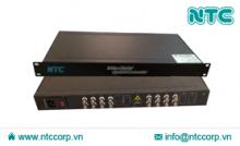 Bộ thu phát tín hiệu Video sang quang 16 kênh (NMC-S16V Series)