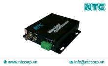 Bộ thu phát tín hiệu Video sang Quang 1 Kênh (NMC-S1V Series)
