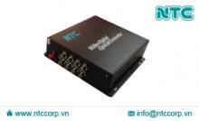 Bộ thu phát tín hiệu Video sang Quang 8 Kênh (NMC-S8V Series)