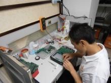 Sửa chữa, thay thế màn hình máy hàn cáp quang, máy đo cáp quang