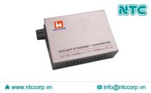 Bộ chuyển đổi quang điện Gigabit 10/100/1000M 1 sợi quang